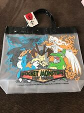 NINTENDO  Pokemon Pocket monsters Best Wishes  Tote Clear Handbag Made In Japan