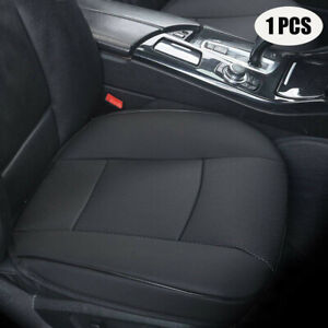 Black PU Leather Car Seat Cushion Cover Protector Mat Universal Car Accessories