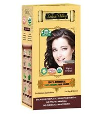 100 percent Botanical Organic Light Brown Hair Colour - Indus Valley