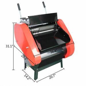 WOO 220V Automatic Wire Cable Stripper Copper Multicore Scrap Stripping Machine