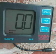 NASA Marine target 2 ECOSCANDAGLIO profondimetro acqua piatto con allarme profondità donatori NUOVO