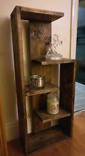 Handmade Rustic Shelf unit