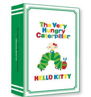 [HELLO KITTY x ERIC CARLE] The Very Hungry Caterpillar Design Makeup Bag NEW