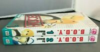2 Manga Books B.O.D.Y. (Body) Vol 1-2 Graphic Novel Shojo Romance Ao Mimori