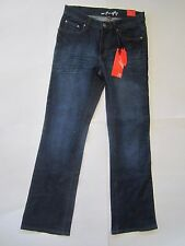NEW MISSY FIREFLY SZ.6 BOOT CUT STRETCH DENIM JEANS WOMEN DARK BLUE NWT SR $44