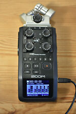 More details for zoom h6 6 track portable recorder for podcasting music & film
