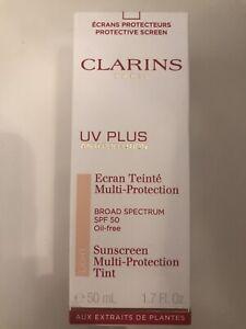 Clarins UV Plus Sunscreen Light Multi-Protection Tint 1.7 OZ