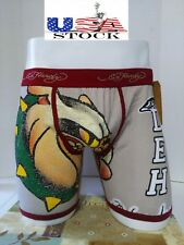 Ed Hardy Men's Bulldog Athletic 1973 Collection  Boxer Briefs Size Small New