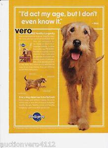PEDIGREE 2010 magazine ad print art page clipping dog food advertisement advert