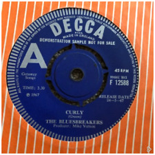 Bluesbreakers  Curly  Decca Demo 45rpm Single John Mayall