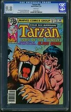Tarzan #20 (1979) CGC Graded 9.8 ~ Marvel Comics ~ Sal Buscema & Bob Hall Art