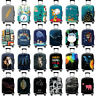 Elastic Travel Suitcase Luggage Protector Cover 18''-32'' Dustproof Anti Scratch