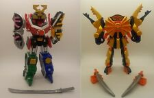 Power Rangers Samurai: Samurai Megazord + Clawzord = Claw Armor Megazord