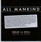 (BZ658) All Mankind, Break The Spell - 2011 DJ CD