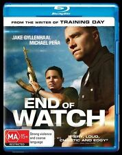 End Of Watch (Blu-ray, 2014)
