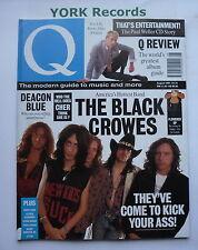Q MAGAZINE - August 1991 - The Black Crowes / Deacon Blue / Paul Weller