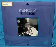 LD laserdisc Swedish INGRID BERGMAN June Night F'Sld!