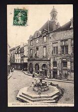 MANTES LA JOLIE 78 Yvelines hotel de ville et ancienne fontaine CPA 78