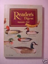Reader's Digest September 1960 Ann Landers Ken Purdy ++