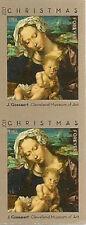 US 4815b Christmas Virgin & Child imperf NDC vert pair MNH 2013