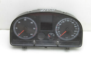 #9899 VW Caddy 2007 LHD Speedometer Instrument Cluster 2K0920843C