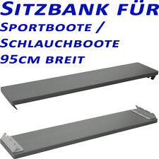 Sitzbrett Sitzbank Sitz 95cm für Sportboot, Schlauchboot, Antirutschbeschichtung