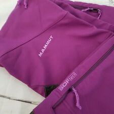Mammut Terza Softech NWOT Size 2 Purple Softshell Pants ~