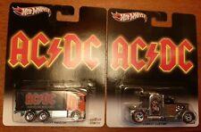 HOT WHEELS 2013 POP CULTURE AC/DC CONVOY CUSTOM & HIWAY HAULER