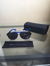 NIB MARC by MARC JACOBS Polarized Aviator Eyewear Shades Sunglasses- Black/Blue