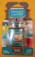 YANKEE CANDLE COMPANY AUTO AIR FRESHENER BAHAMA BREEZE SCENT NEW