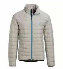 Spyder Mens Packable Down Prymo Jacket Gray XL  $200