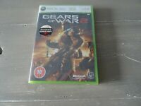 Gears Of War 2 XBOX 360 Brand New & Sealed. Code For 5 Bonus Maps Inside