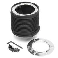 Black Steering Wheel Hub Boss Kit Adapter For Peugeot 206 206+ GTI CC HDI XSI !