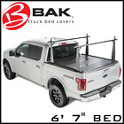 BAK Tonneau Bed Cover/Truck Bed Rack Kit Fits 2007-2021 Toyota Tundra 6' 7
