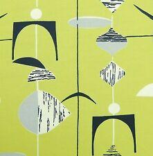 Marian Mahler Heals fabric 50s design DIY framing mobiles DIY wall art reissue