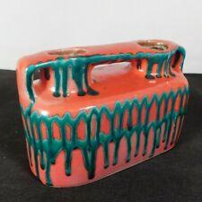 Hungaria Zsuzsa Bártfay Vase/Candle holder mid century modern Art Pottery