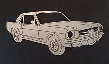 Ford 1965 Mustang Laser Cut / Plasma Cut Garage Sign