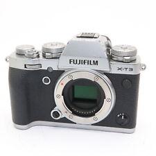 Fujifilm Fuji X-T3 26.1MP Mirrorless Digital Camera Body (Silver) #239