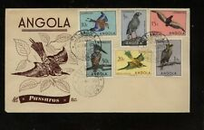 Angola  nice  cachet  bird  stamps on cover         MS1212