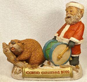 CAIRN CHRISTMAS 2000-R~Clark/Wolfe~Cairn Item #6367~Edition #40~w/COA & Story