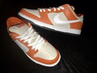 NIKE DUNK SB LMTD QS LOW ORANGE BOX PROD DS NEW SIZE 11.5