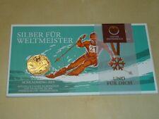 ÖSTERREICH   5 Euro 2013   Ski WM Schladming   im Blister