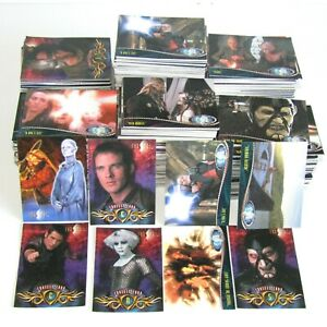 54 x Farscape Trading Card Bundle ~ Crichton ~ Aeryn Sun ~ Chiana ~ D'Argo
