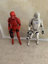 Hasbro-STAR WARS BLACK SERIES 6?  SIth Trooper & Carbonized Jet Trooper- Loose