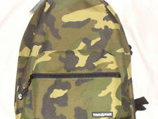 YAK PAK Camo DELUXE Student Backpack SHOULDER BAG School CAMOUFLAGE Brown Green