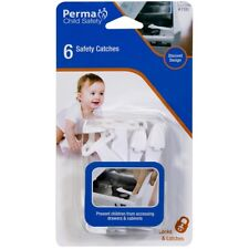 Perma Child Safety Safety Catches - 6 Pack