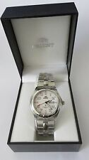 VINTAGE ORIENT SPORTY SAPPHIRE WATCH FOR MEN LUG1C001WH NEW IN THE ORIGINAL BOX