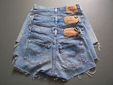 Levi's Patternless High Rise Shorts for Women