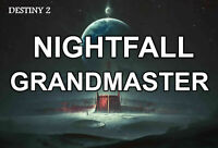 Grandmaster Nightfall weekly (PS4)