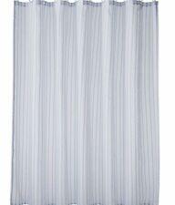 Home Classics Blue Montauk Stripe Fabric Shower Curtain Bath Decor